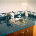 Vanity Tops made out of marble, granite or limestone