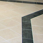 Tiles for kitchen pavings and claddings , marble , granite or limestone.