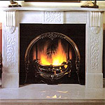 Victorian marble fireplaces, hand-carved pieces, cut to size.