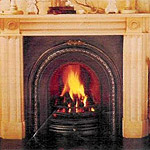 Regency Fireplaces, hand-carved pieces, cut to size
