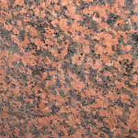 Balmoral Red granite, polished finish.