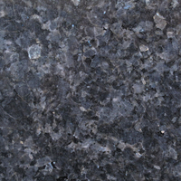 Blue Pearl granite, polished finish.