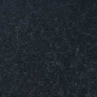 Angola Black granite, polished finish .