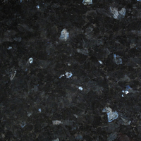 Emerald Pearl granite, polished finish.
