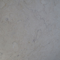 Lioz Cream, marble honed finish .