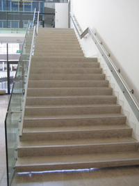 Staircase In Donegal Blue Limestone