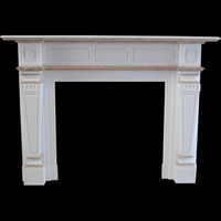 The Leathen  in white sivec marble