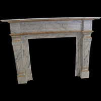 The Leathen  in white carrara marble