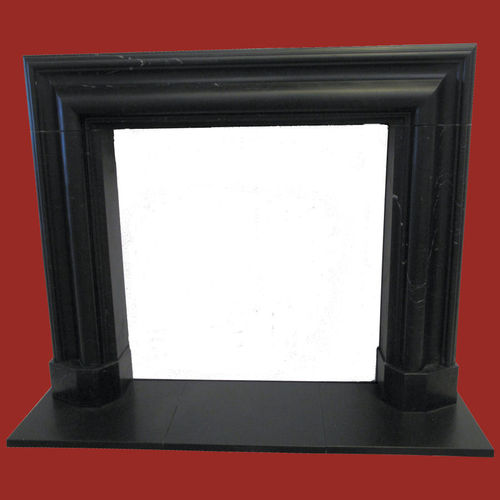 The Bolection mould fireplace in black marble